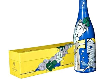 Roy Lichtenstein, 'Champagne Bottle and Presentation Case', 1965