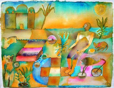 Jesus Urbieta, 'Tierra anegrada', 1996