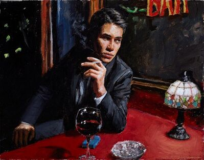 Fabian Perez, 'Study for Mr Clark V', 2017