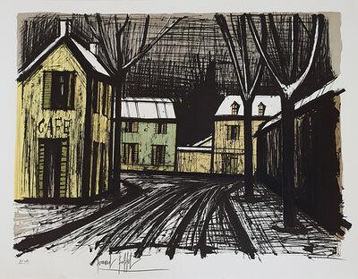 Bernard Buffet, 'Village sous la neige', 1981