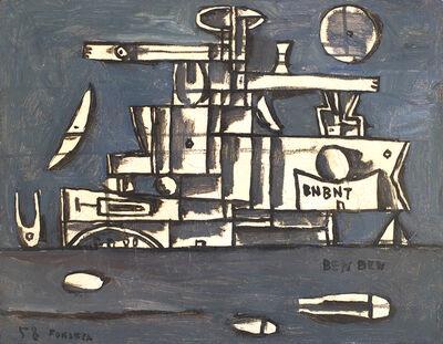 Gonzalo Fonseca, 'Metaphysical Landscape-Ben Ben', 1958
