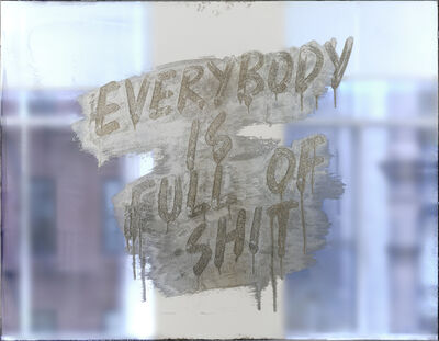 Mel Bochner, 'Everybody Is Full of Shit', 2018