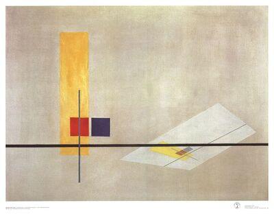 László Moholy-Nagy, 'Konstruktion Z I', 1989