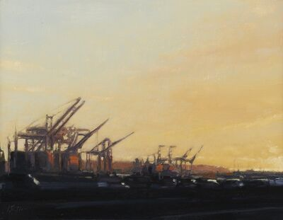 Jeff Bellerose, 'Cranes', 2016