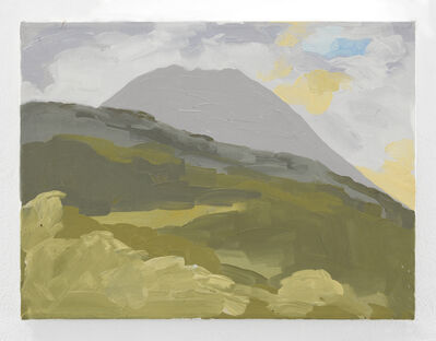 Luis Frangella, 'Mount Vesubio', 1988