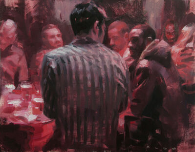 Aldo Balding, 'Alizarin Bar'
