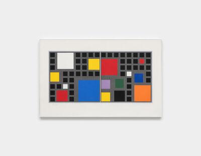 Jesús Rafael Soto, 'Mur Polychrome CFDT ', 1988