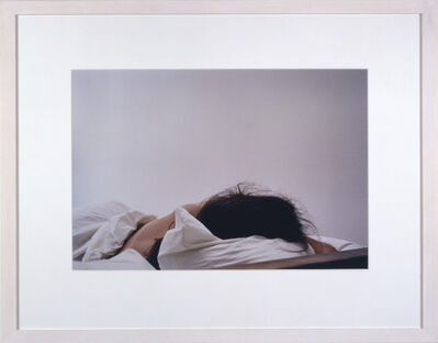 Troy Brauntuch, 'Untitled (Anne Sleeping)', 1997