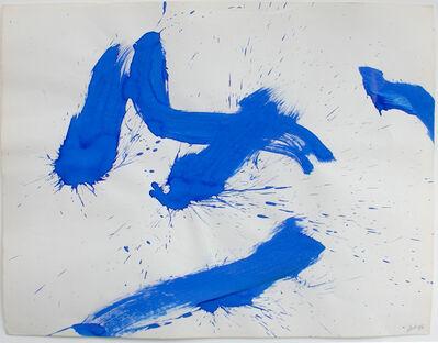 Marcel Barbeau, 'Vol aux confins de l'azur', 1972