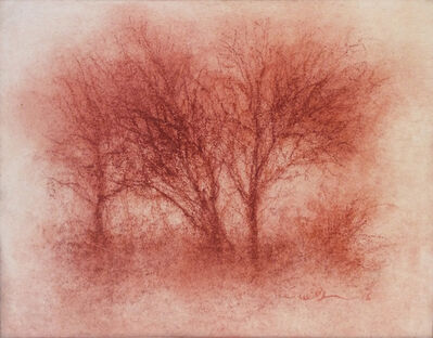 Sue Bryan, 'Red Tree 4', 2016