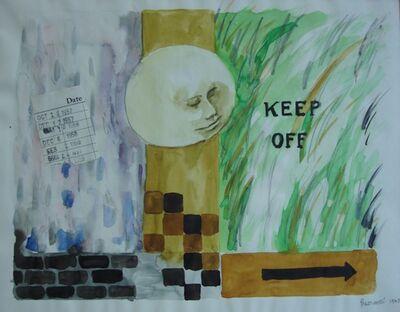 Sarah Frassinelli, 'C2, Keep Off', 1963