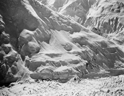 Bradford Washburn, 'Knik Glacier, looking s.s.w across to its south bank, just east of Gannett glacier, Alaska, 4th September 1978', 1978