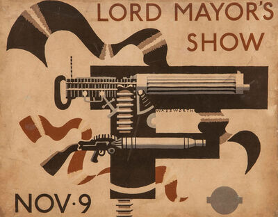 Edward Wadsworth, 'Lord Mayor's Show', 1936