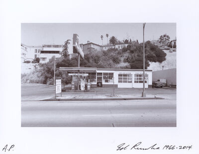 Ed Ruscha, '8543 Sunset Blvd. - 1966', 1966-2014