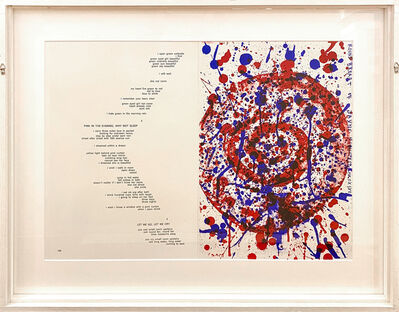 Sam Francis, 'Round Breast of Jayne Mansfield', 1964
