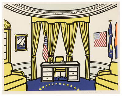 Roy Lichtenstein, 'The Oval Office (C. 277) ', 1992
