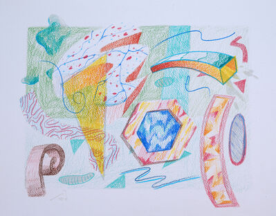 Athier Mousawi, 'Fade and Float drawing I', 2019