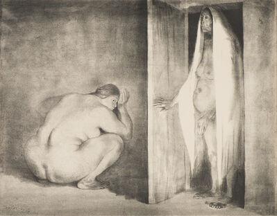 Francisco Zúñiga, 'La Visita (B. 16)', 1984