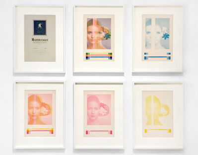 Billy Apple, 'Wild Flower Face, Colour Progressives: Set of 6', 1968