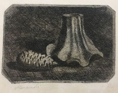 Giorgio Morandi, 'Natura Morta con Pigna e Frammento di Vaso (Still Life with Pine Cone and Fragment of Pot)', 1922