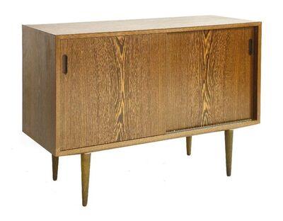 Hundevad, 'A wenge wood cabinet'