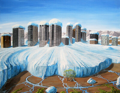 Jed Dunkerley, 'The Little Bellevue Ice Age', 2018