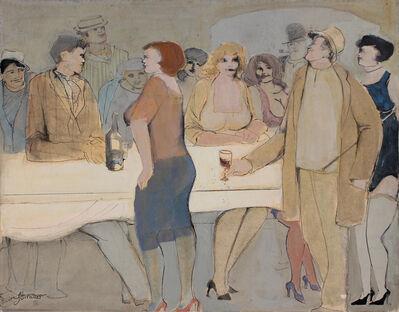 David Schneuer, 'White Table', 1976