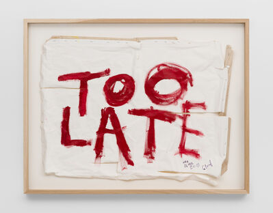 Thierry Geoffroy /COLONEL, 'TOO LATE, 24th February, 2019', 2019