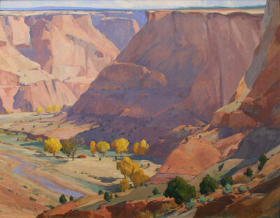 """G. Russell Case, '""""October in Canyon de Chelly""""', 2017"""