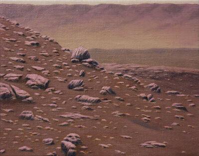 Adam Benjamin Fung, 'Mars Opportunity Rover, Murray Buttes region, Italian pink', 2019
