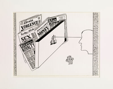 Derek Boshier, 'What the Papers Say', 1978