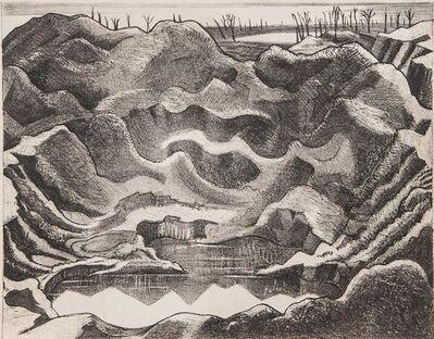 Paul Nash, 'Mine Crater (Hill 60)', 1917