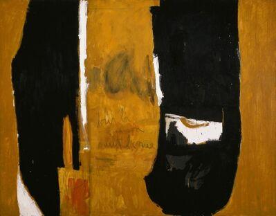 Robert Motherwell, 'Jour La Maison, Nuit La Rue', 1957 -1958