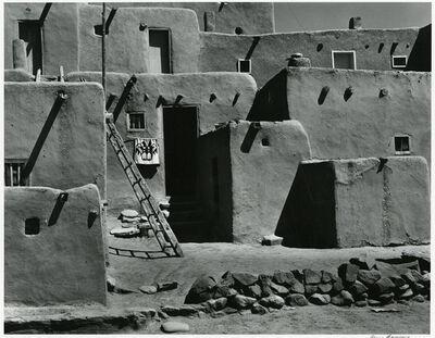 Alma Lavenson, 'Taos Pueblo, 1941', 1987