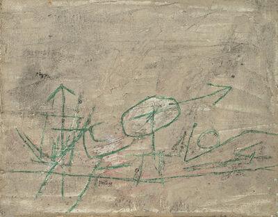 Achille Perilli, 'Omaggio a Klee', 1959