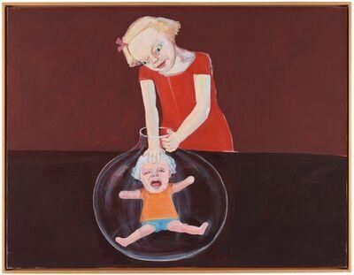 Lena Cronqvist, 'Flicka med glaskolv', 2000-2001