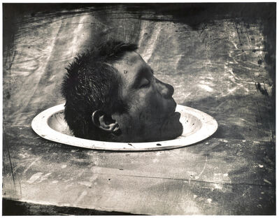 Joel-Peter Witkin, 'Head of a Dead Man, Mexico City', 1990