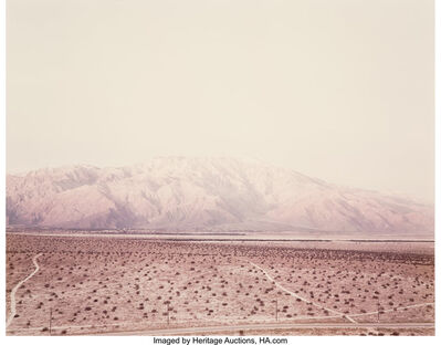 Richard Misrach, 'Untitled (Desert)', 1983