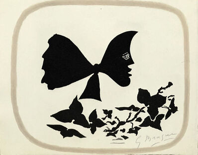 Georges Braque, 'Butterfly head', 1958