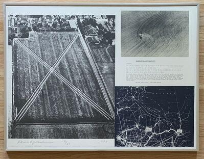 Dennis Oppenheim, 'Cancelled Crop - Direct Seeding. 1969', 1973