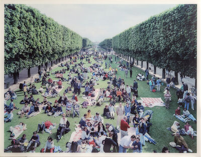 Massimo Vitali, 'Picnic Allee (Image #26) from Landscapes with Figures', 2006