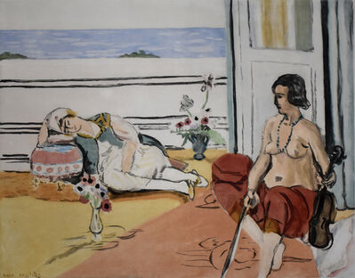 Henri Matisse, 'Odalisque on the Terrace | Odalisque sur la Terrasse', 1922