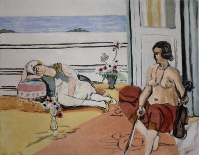 Henri Matisse, 'Odalisque on the Terrace | Odalisque sur la Terrasse', 1922