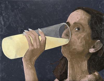 Ryan Mendoza, 'Woman drinking', 2001