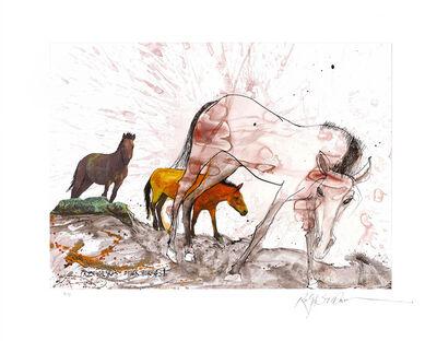 Ralph Steadman, 'Przewalski's Horse', 2017