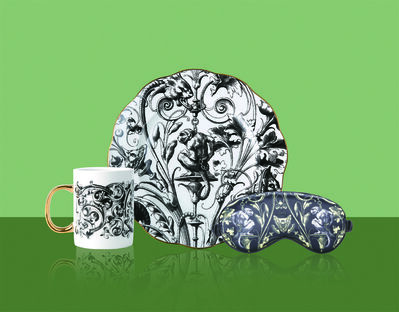 Zhao Yiqian 趙一淺, 'HuXi Gothic Themed Mug & Plate & Eye Mask'