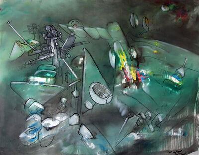 Roberto Matta, 'Repondre du limite', 1961