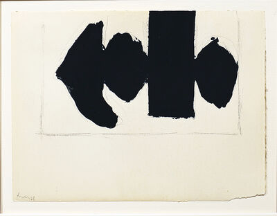 Robert Motherwell, 'Study for Elegy to the Spanish Republic No. 110e', 1968