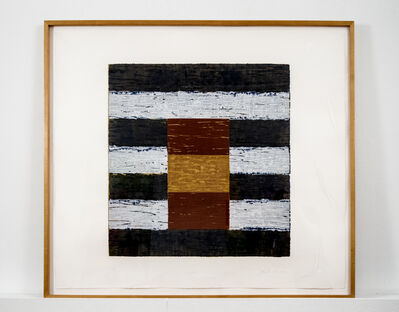 Sean Scully, 'With', 1988