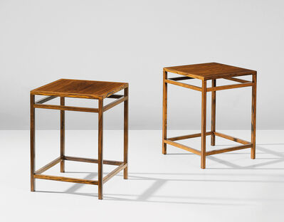 Aksel Bender Madsen and Ejner Larsen, 'Pair of side tables'